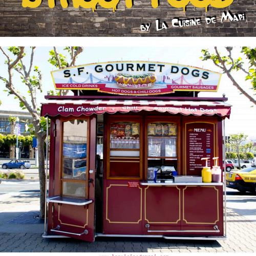 Le livre de Cuisine Street Food