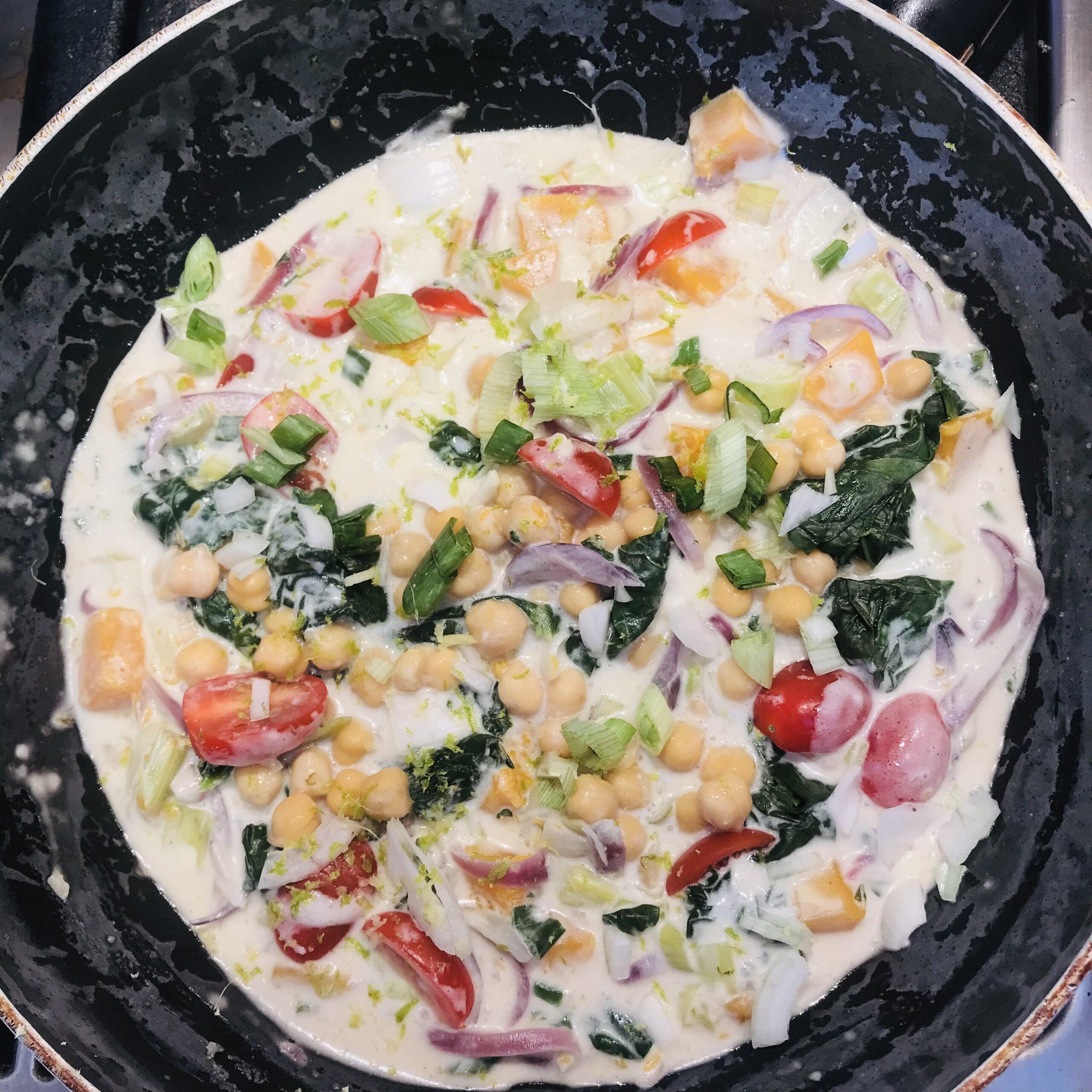 Curry veggie pour l'automne